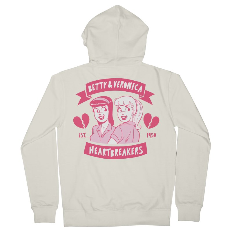Heartbreakers Women's French Terry Zip-Up Hoody by archiecomics's Artist Shop