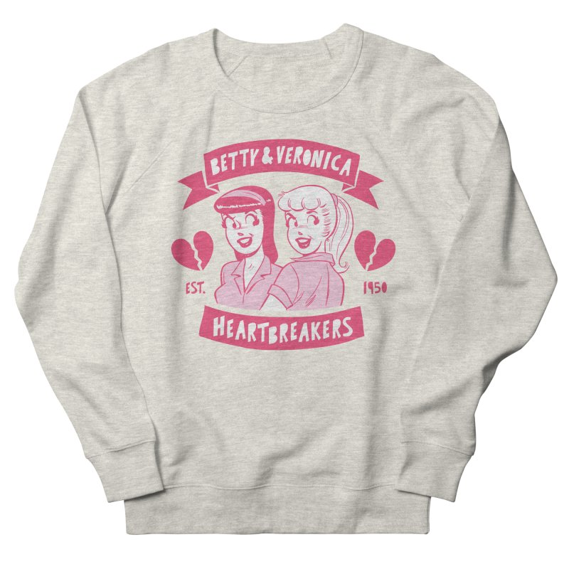 Heartbreakers Women's French Terry Sweatshirt by archiecomics's Artist Shop