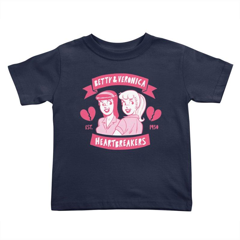 Heartbreakers Kids Toddler T-Shirt by archiecomics's Artist Shop