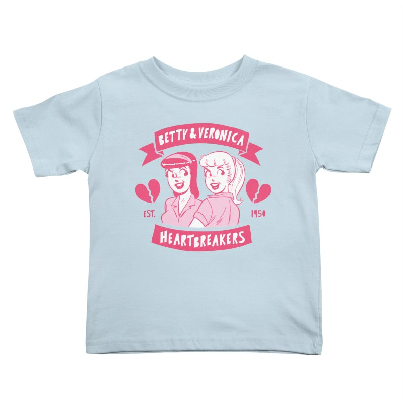Heartbreakers Kids Toddler T-Shirt by archiecomics's Artist Shop