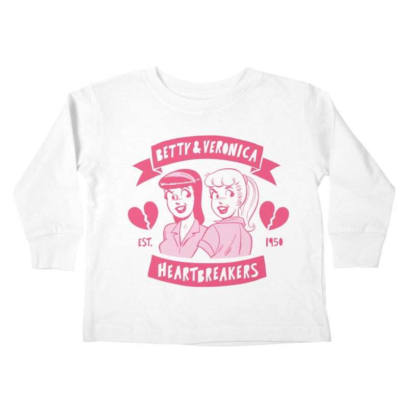 Heartbreakers Kids Toddler Longsleeve T-Shirt by archiecomics's Artist Shop