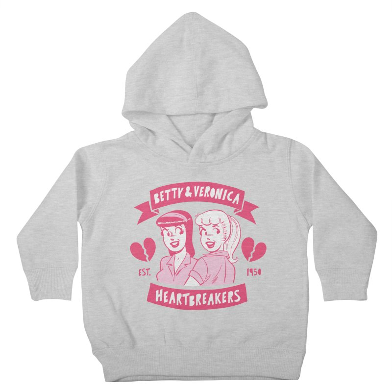 Heartbreakers Kids Toddler Pullover Hoody by archiecomics's Artist Shop
