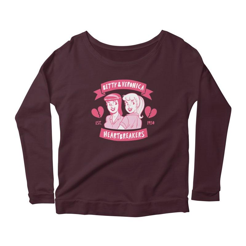 Heartbreakers Women's Scoop Neck Longsleeve T-Shirt by Archie Comics