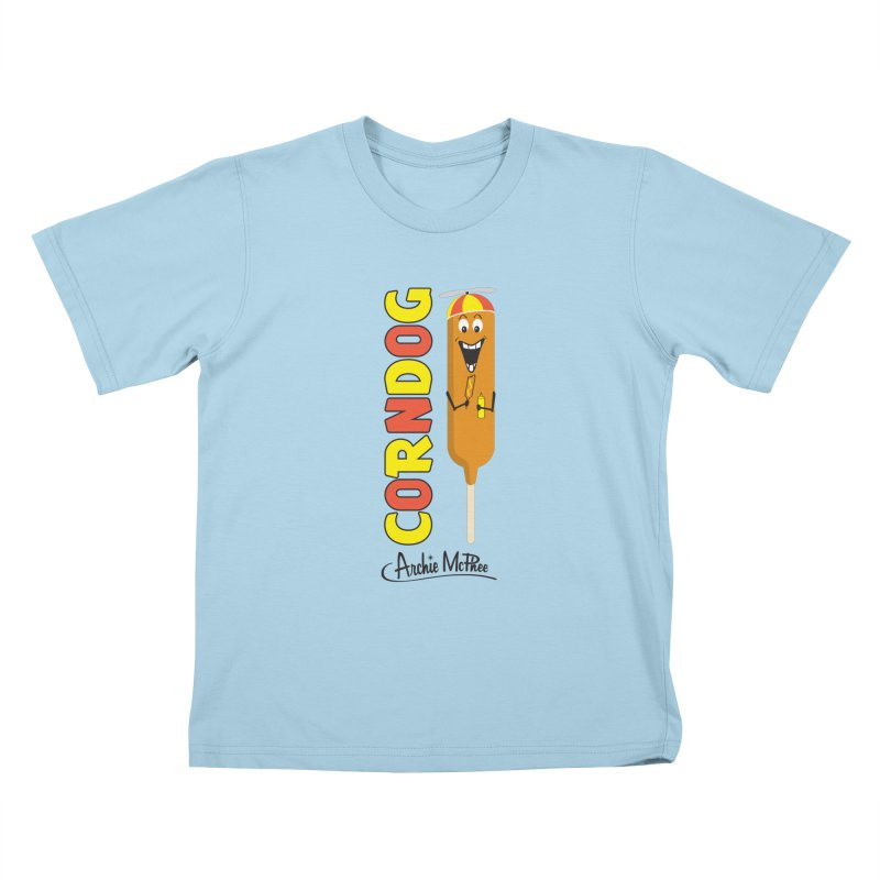 Corn Dog Kids T-Shirt by Archie McPhee Shirt Shop