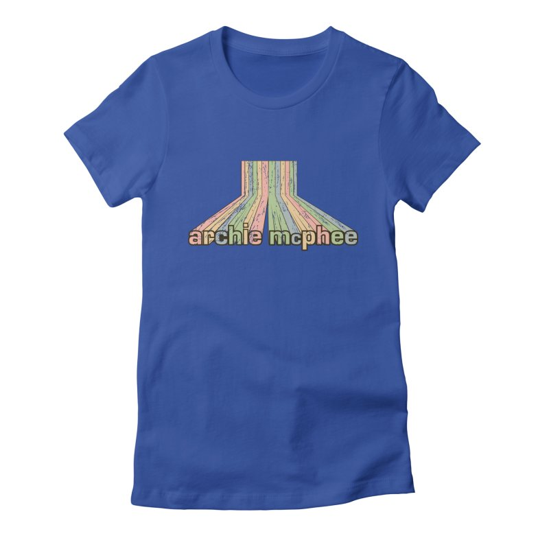 Archie McPhee Retro Logo Women's Fitted T-Shirt by Archie McPhee Shirt Shop