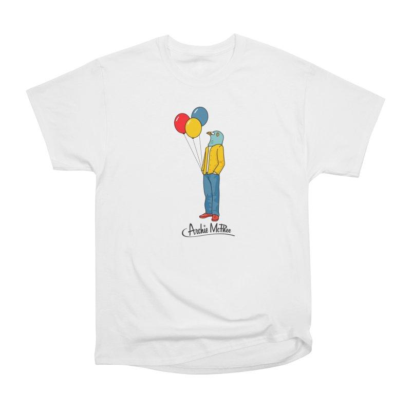 Strange Friends - Pigeon Man Men's Classic T-Shirt by Archie McPhee Shirt Shop