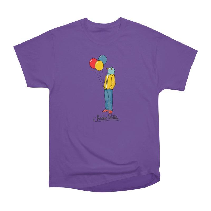 Strange Friends - Pigeon Man Women's Classic Unisex T-Shirt by Archie McPhee Shirt Shop