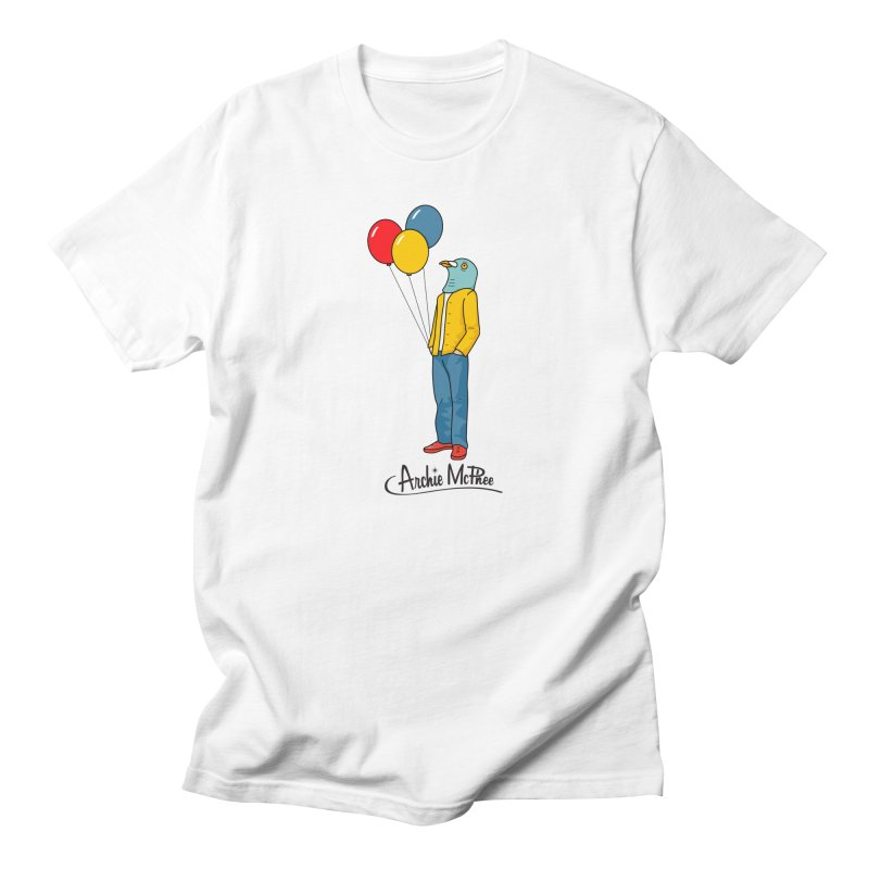 Strange Friends - Pigeon Man Men's T-shirt by Archie McPhee Shirt Shop