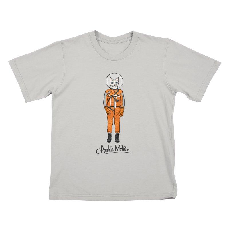 Cat Astronaut Kids T-Shirt by Archie McPhee Shirt Shop
