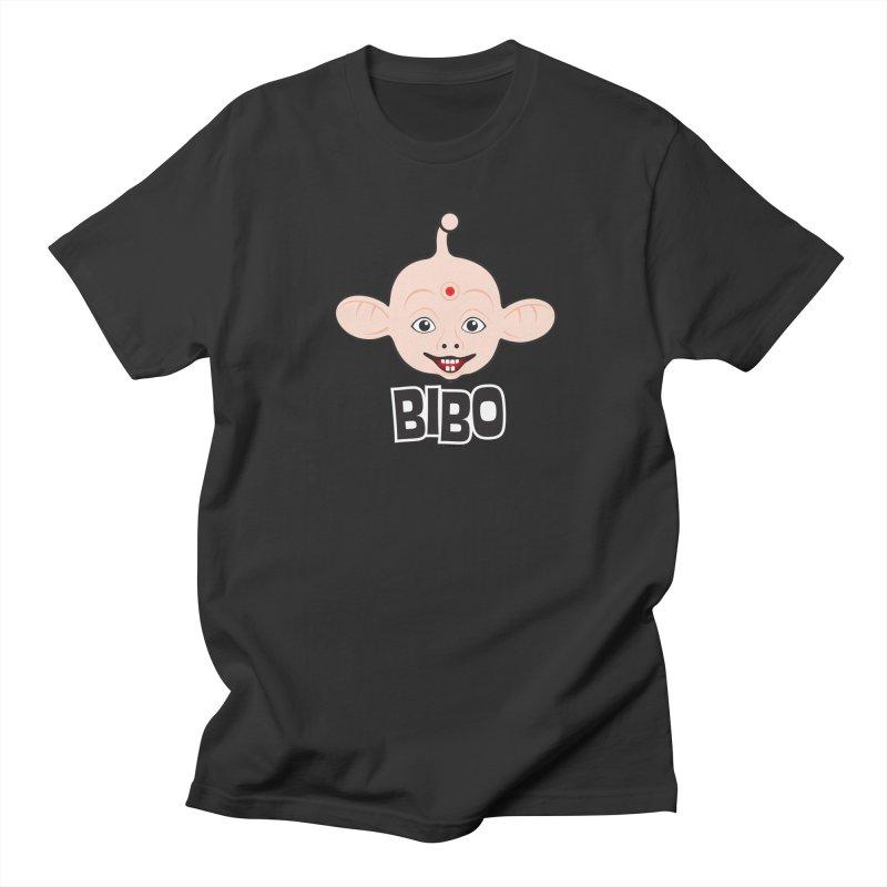 Bibo Men's T-shirt by Archie McPhee Shirt Shop