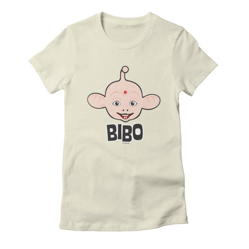 Bibo Women's Fitted T-Shirt by Archie McPhee Shirt Shop