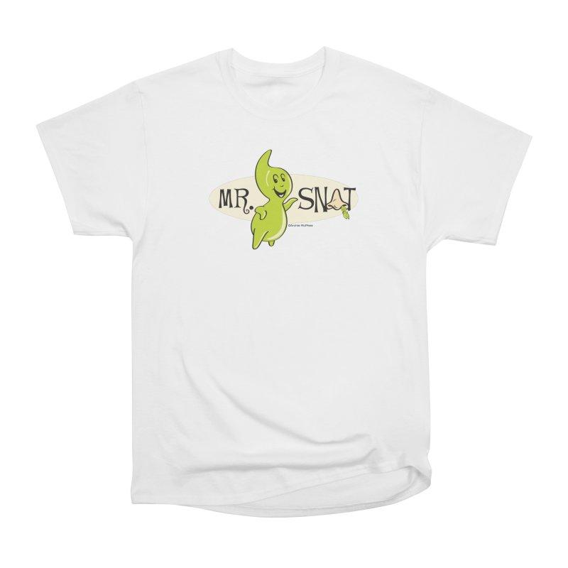 Mr. Snot Women's Classic Unisex T-Shirt by Archie McPhee Shirt Shop