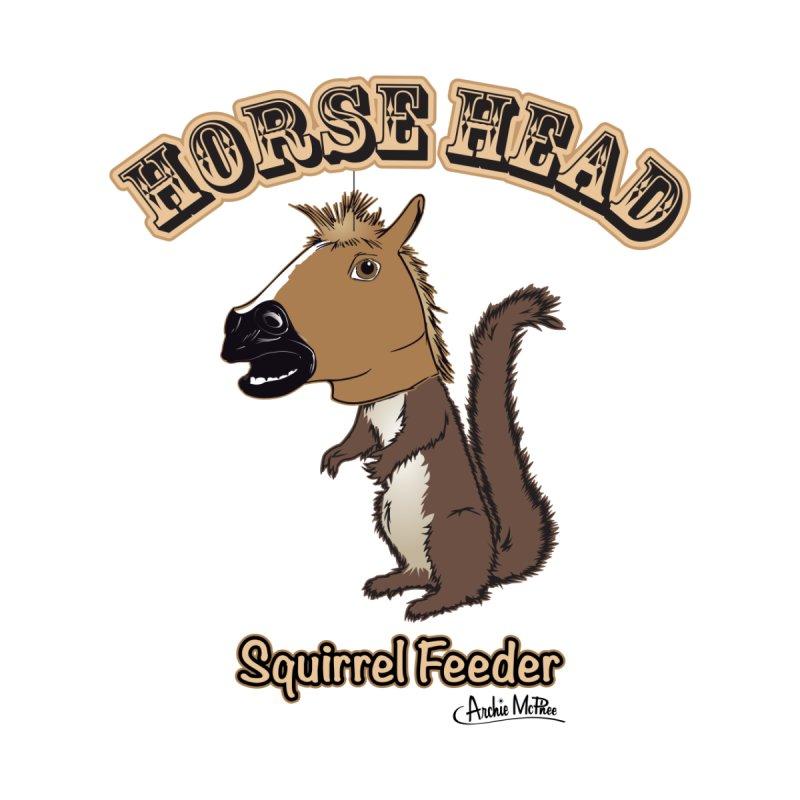 Horse Head Squirrel Feeder by Archie McPhee Shirt Shop