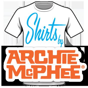 Archie McPhee Shirt Shop Logo