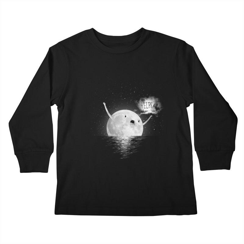 Help! Kids Longsleeve T-Shirt by arianrrecaj's Artist Shop