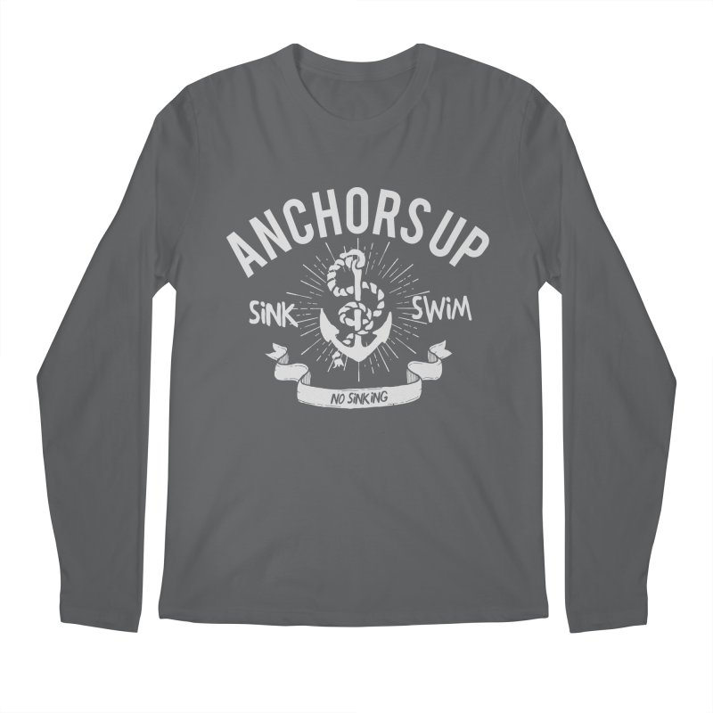 Anchors up Men's Longsleeve T-Shirt by arielmenta's Artist Shop