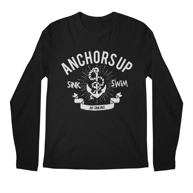 Anchors up Men's Longsleeve T-Shirt by arielmenta's Artist Shop