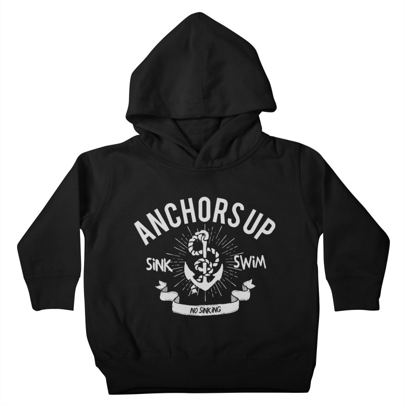 Anchors up Kids Toddler Pullover Hoody by arielmenta's Artist Shop