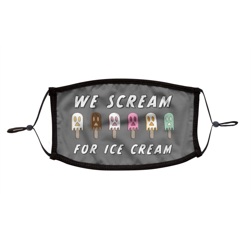 We Scream For Ice Cream Accessories Face Mask by Aries & Leo