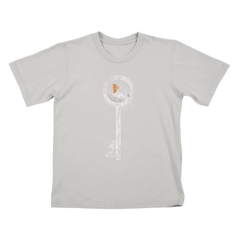 Forgotten Key Kids T-Shirt by ariesnamarie's Artist Shop