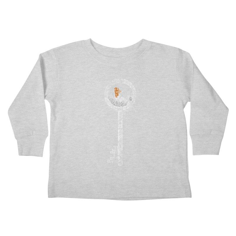 Forgotten Key Kids Toddler Longsleeve T-Shirt by ariesnamarie's Artist Shop