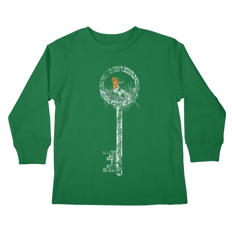 Forgotten Key Kids Longsleeve T-Shirt by ariesnamarie's Artist Shop