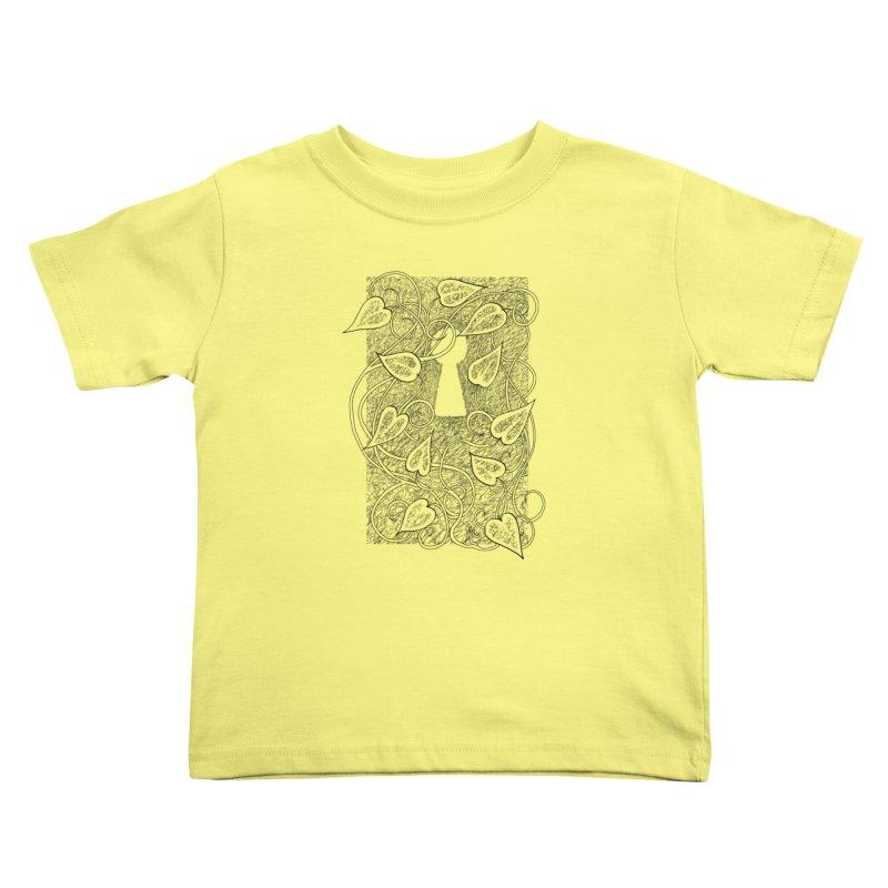 Secret Garden Kids Toddler T-Shirt by ariesnamarie's Artist Shop