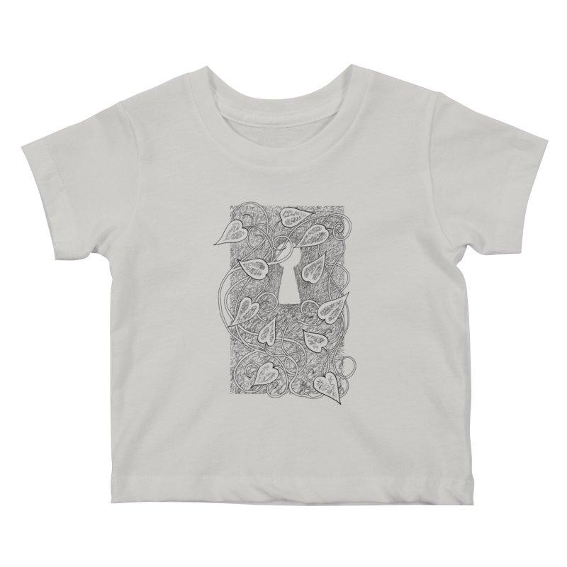 Secret Garden Kids Baby T-Shirt by ariesnamarie's Artist Shop