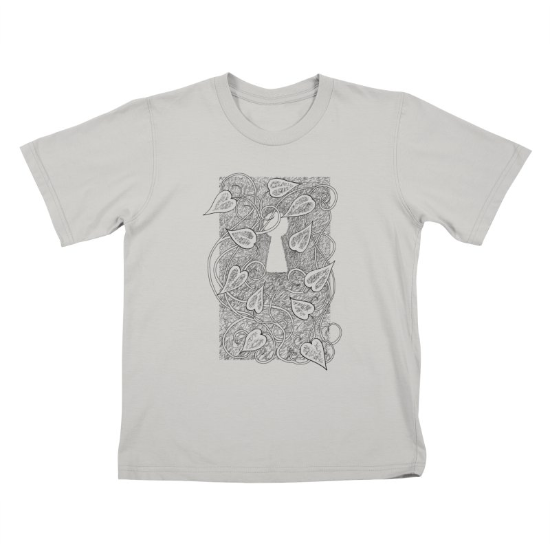 Secret Garden Kids T-shirt by ariesnamarie's Artist Shop
