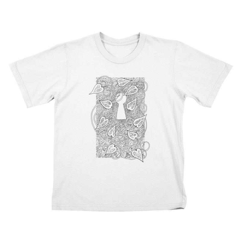 Secret Garden Kids T-Shirt by ariesnamarie's Artist Shop