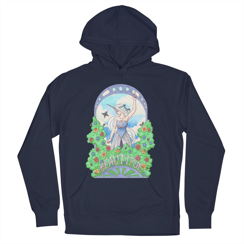You Are Beautiful Women's Pullover Hoody by ariesnamarie's Artist Shop