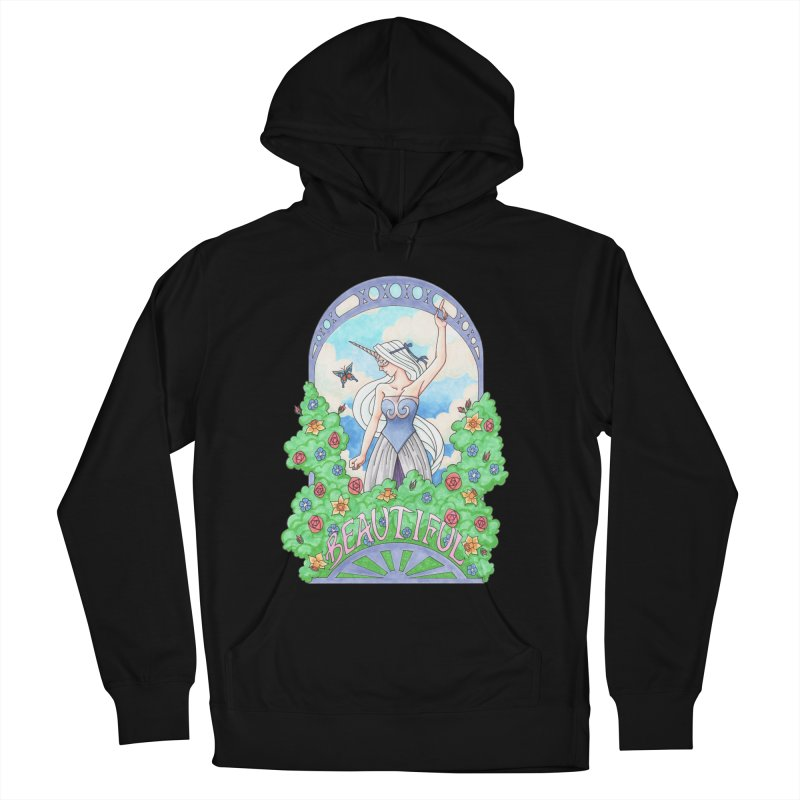 You Are Beautiful Men's Pullover Hoody by ariesnamarie's Artist Shop