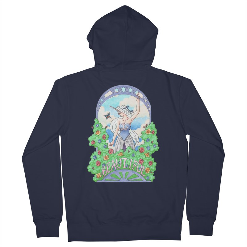 You Are Beautiful Men's Zip-Up Hoody by ariesnamarie's Artist Shop