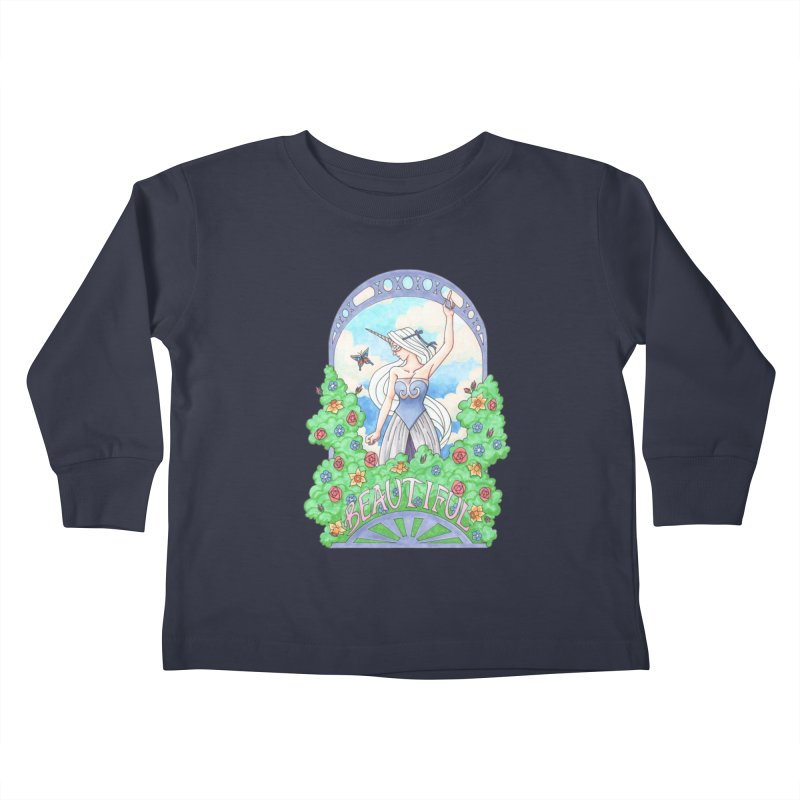 You Are Beautiful Kids Toddler Longsleeve T-Shirt by ariesnamarie's Artist Shop