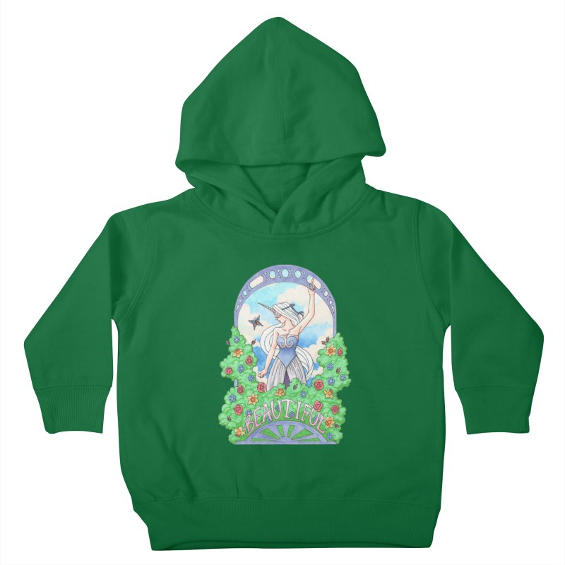 You Are Beautiful Kids Toddler Pullover Hoody by ariesnamarie's Artist Shop