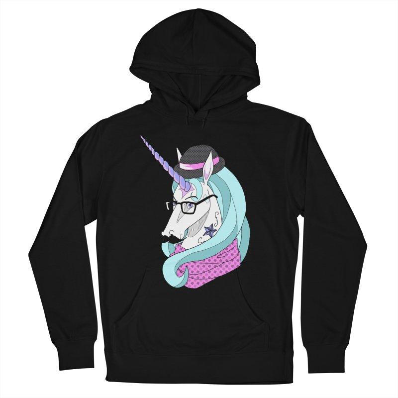 Hipster Unicorn Women's Pullover Hoody by ariesnamarie's Artist Shop
