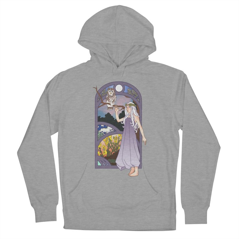 The Flower Maiden Women's Pullover Hoody by ariesnamarie's Artist Shop