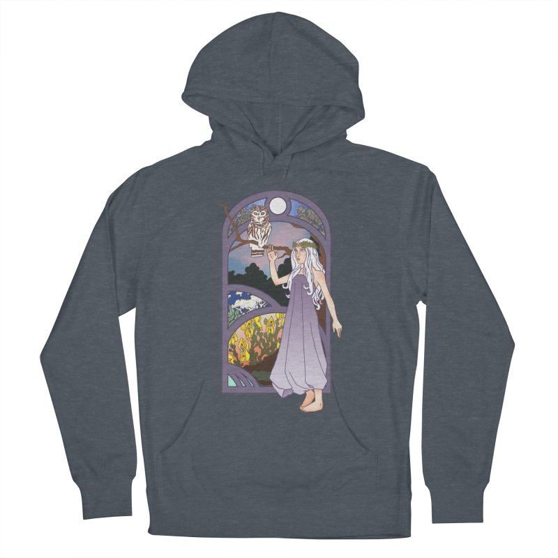 The Flower Maiden Men's Pullover Hoody by ariesnamarie's Artist Shop