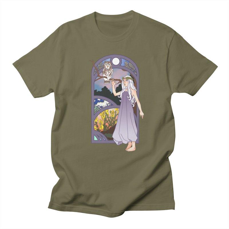 The Flower Maiden Men's T-Shirt by ariesnamarie's Artist Shop