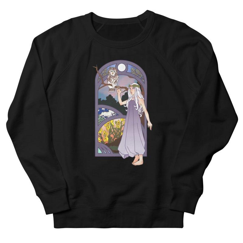 The Flower Maiden Men's Sweatshirt by ariesnamarie's Artist Shop