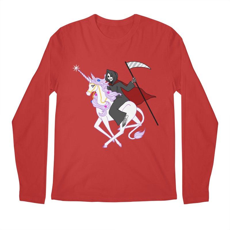 Riding Buddies Men's Longsleeve T-Shirt by ariesnamarie's Artist Shop