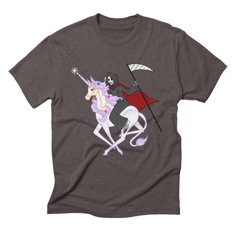 Riding Buddies Men's Triblend T-Shirt by ariesnamarie's Artist Shop