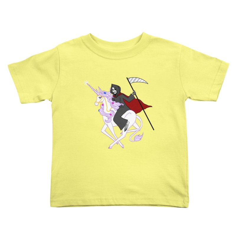 Riding Buddies Kids Toddler T-Shirt by ariesnamarie's Artist Shop
