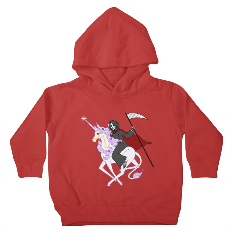 Riding Buddies Kids Toddler Pullover Hoody by ariesnamarie's Artist Shop