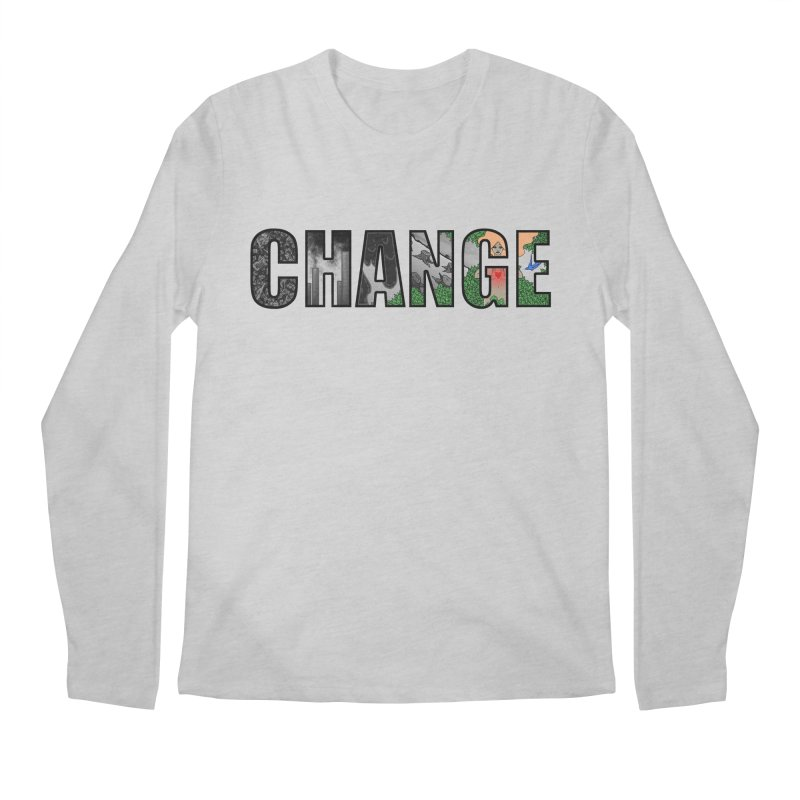 Change Men's Longsleeve T-Shirt by ariesnamarie's Artist Shop