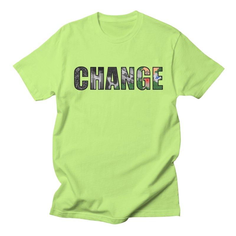 Change Men's T-shirt by ariesnamarie's Artist Shop