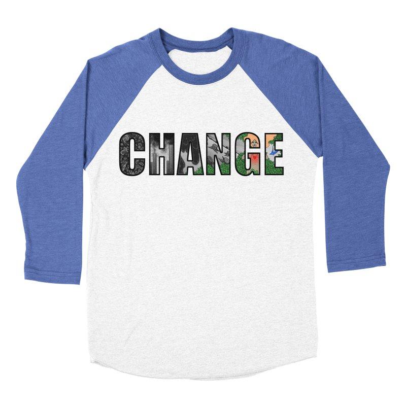 Change Men's Baseball Triblend T-Shirt by ariesnamarie's Artist Shop