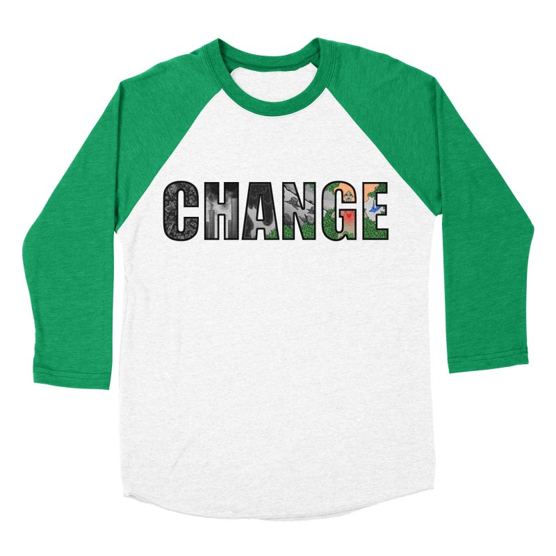 Change Men's Baseball Triblend T-Shirt by ariesnamarie's Artist Shop