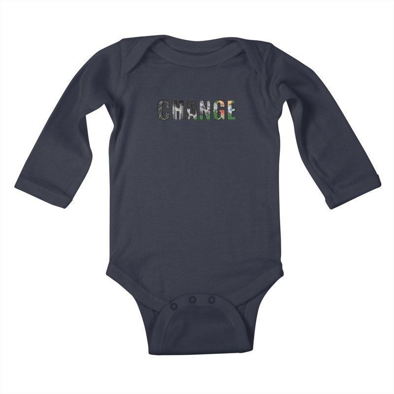 Change Kids Baby Longsleeve Bodysuit by ariesnamarie's Artist Shop