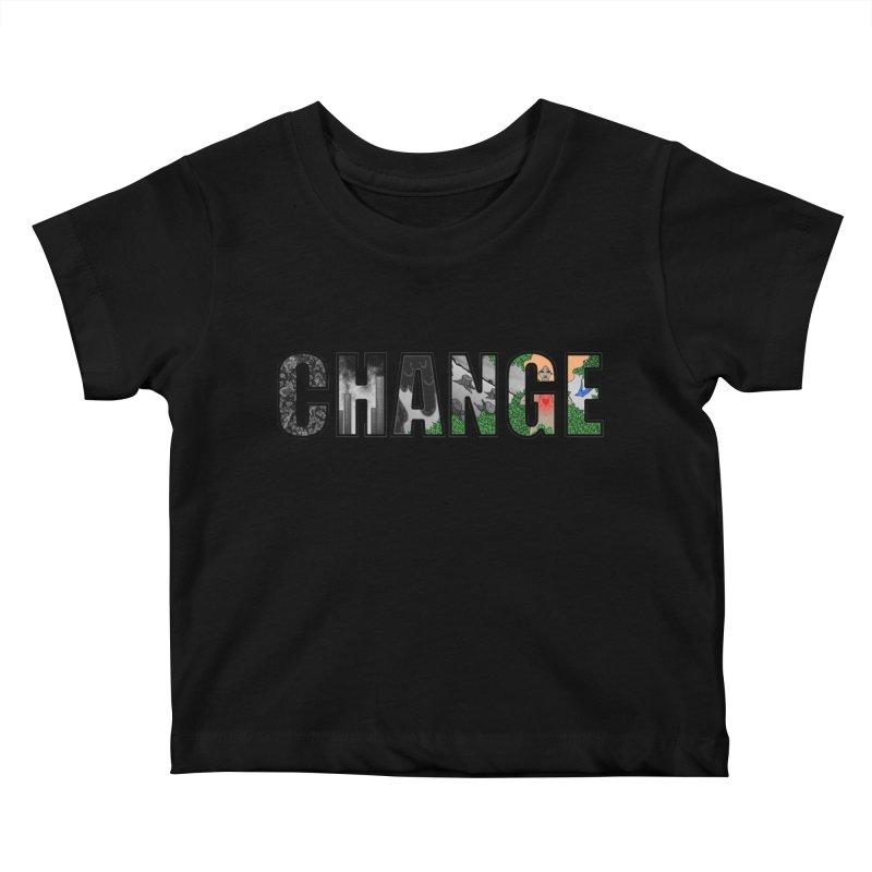 Change Kids Baby T-Shirt by ariesnamarie's Artist Shop